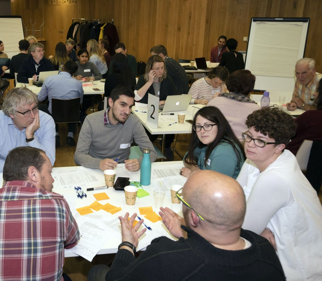 Engaging Discussion at ADAPT's Citizens' Think-In